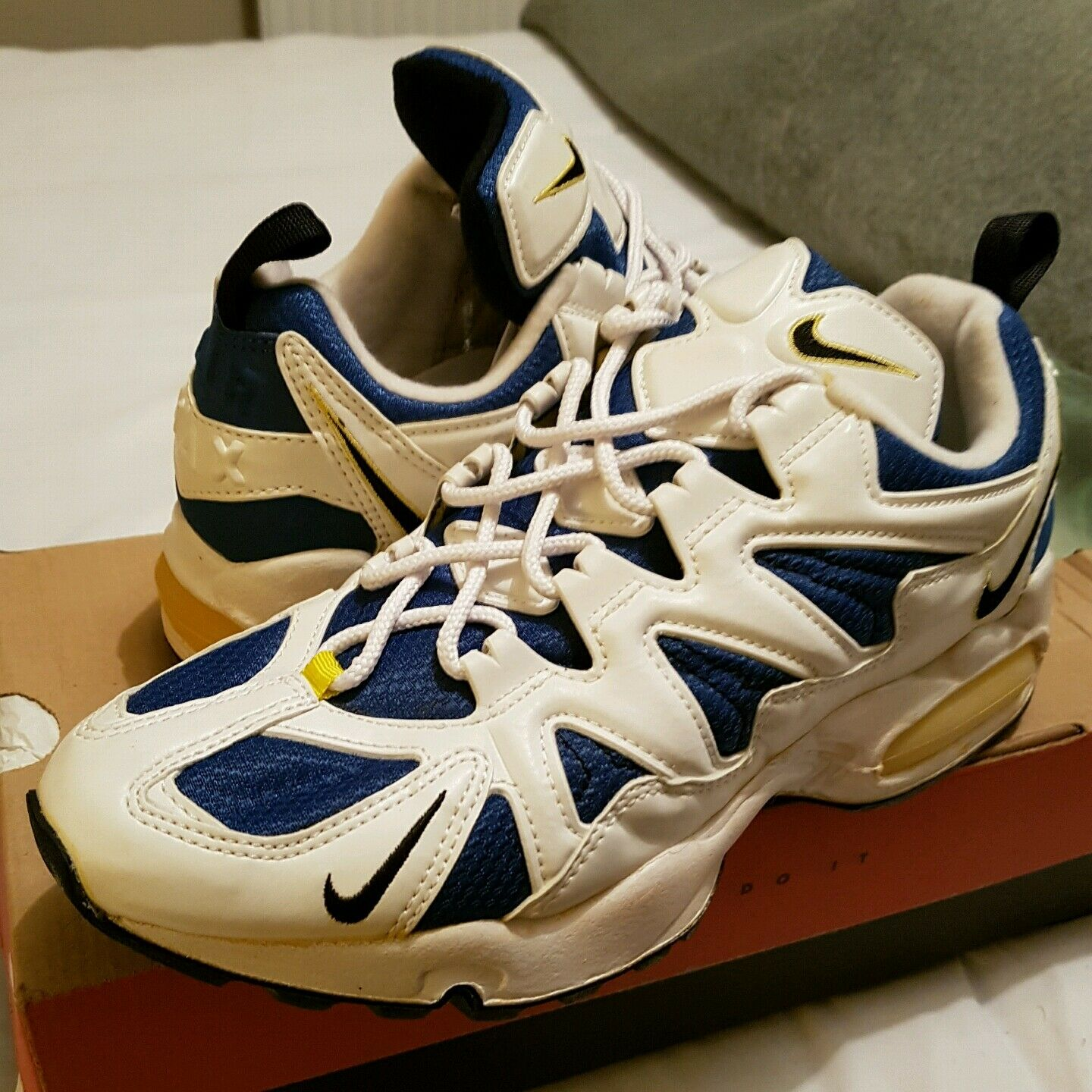 timeless design 62546 d3fc9 85%OFF nike air max tailwind 96 extremely rare vintage uk 8. sole swap