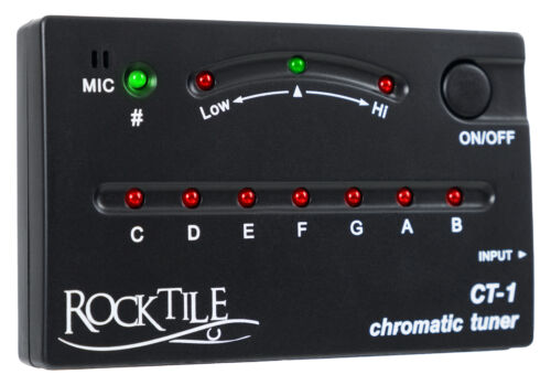 CLASSE accordatore cromatico con microfono nel Pantaloni pratico formato tascabile