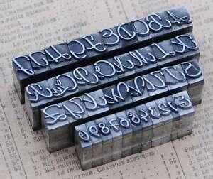 Alphabet-Bleilettern-Vintage-Stempel-Lettern-Initiale-Druckbuchstabe-shabby-ABC
