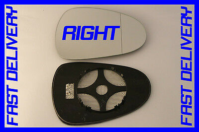 SEAT IBIZA mk5  ESTATE 2008 DOOR WING MIRROR GLASS WIDE ANGLE  HEATED RIGHT