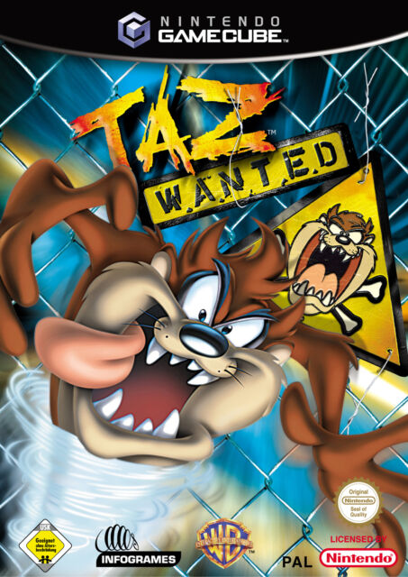 Taz Wanted (Nintendo GameCube, 2002, DVD-Box)