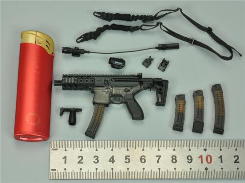 MPX-K Submachine Gun Set for DAM DCG003 Combat Girl Series PISCES NANA 1//6 12/'/'