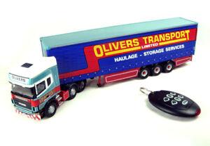 01:50 Scania Topline Olivers 1/50 • Corgi Cc12937