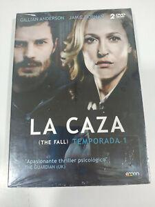 La Caccia The Fall Prima Stagione 1 Completa DVD Spagnolo Inglese Nuovo