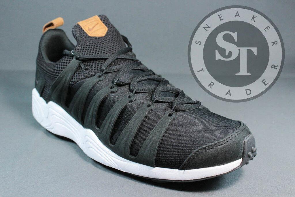 Nike air zoom spirimic 881983-003 ibrido bianco nero dimensioni: nocciola ds dimensioni: nero 6,5 2bf3c5