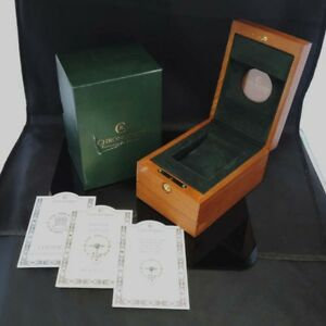 Jewellery & Watches Watches, Parts & Accessories Chronoswiss Watch Box Case Guarantee Booklet 100%authentic Fz1122 Sa1 Finely Processed