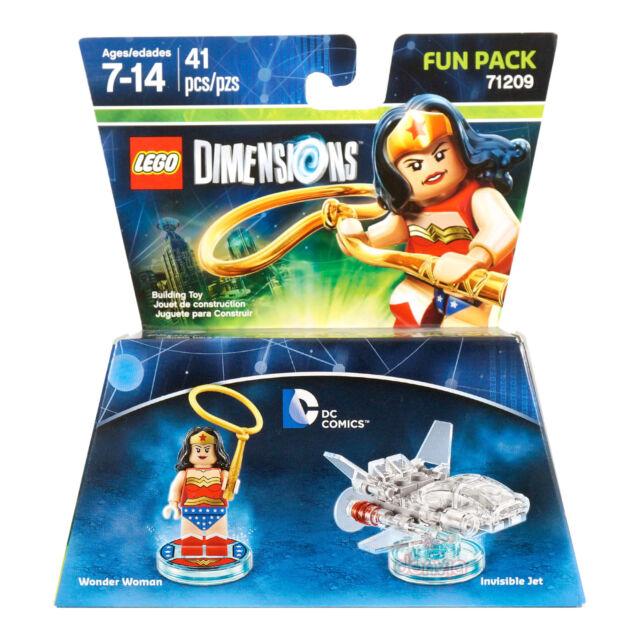 Lego Dimensions 71209 DC Comics Wonder Woman & Invisible Jet