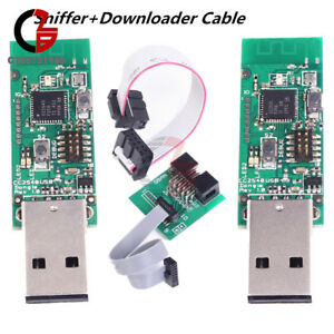 Downloader CC2540 CC2531 BLE 4.0 Sniffer Protocol Analyzer USB Dongle /& Tool