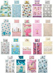 Bettwäsche Kinder 100x135 : kinder baby bettw sche 100x135 40x60 cm mit ~ Watch28wear.com Haus und Dekorationen