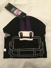 Baltimore Ravens YOUTH Facemask Helmet Winter Hat . Cap NFL Orioles Boys Girls