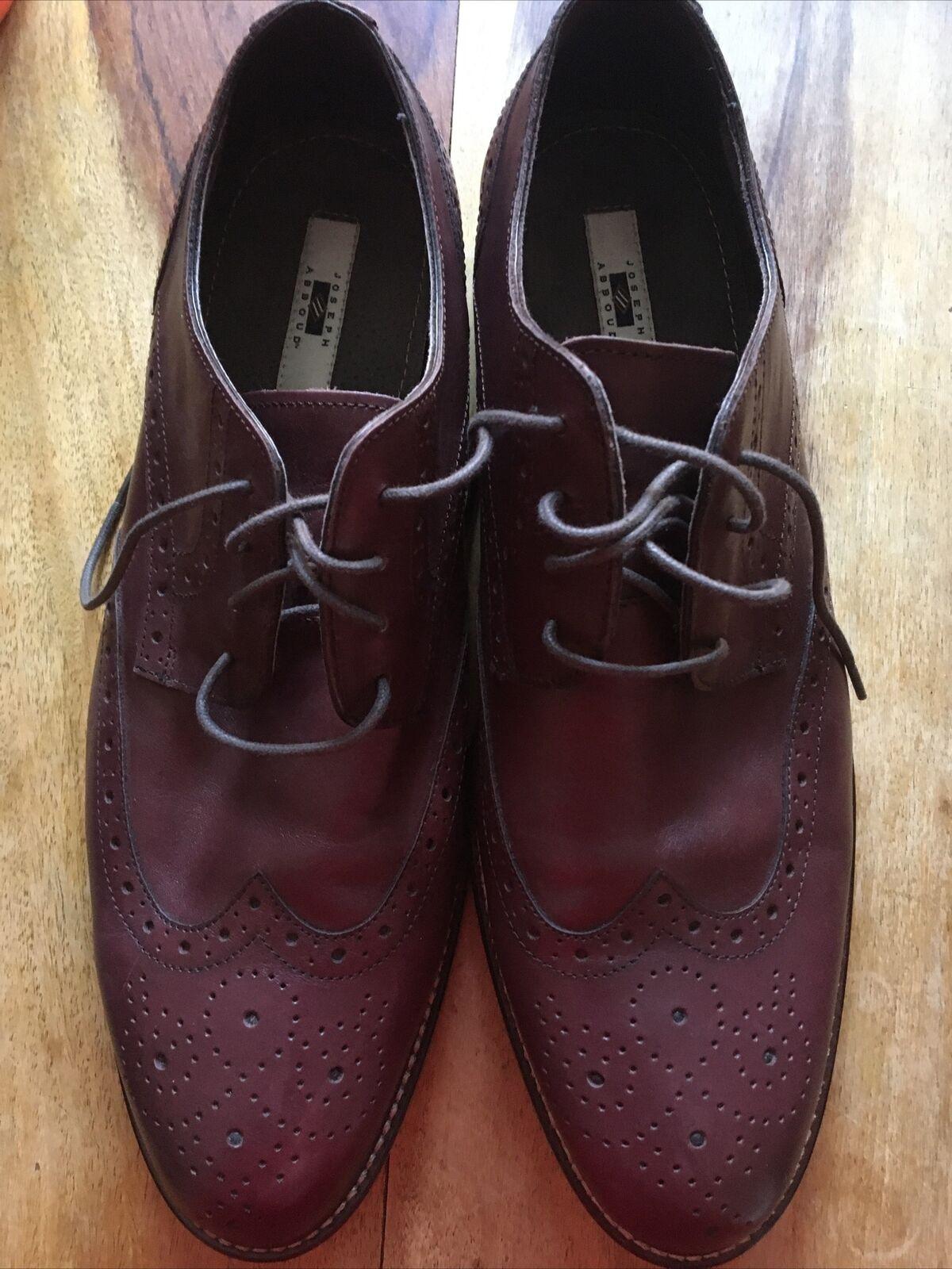 Joseph Abboud Men's Sz 12 Leather Oxford Dress Shoes Tried On Once