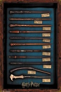 """Harry Potter - Movie Poster / Print (The Wands Of Harry Potter) (24"""" X 36"""")"""