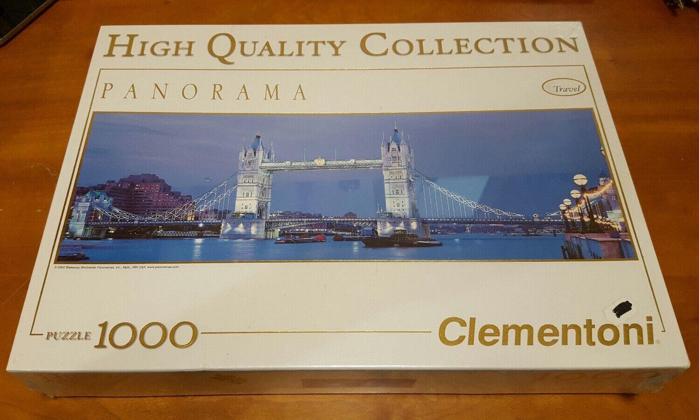 London Bridge (1000-Piece Jigsaw Puzzle) Clementoni  panorama Britain NEW