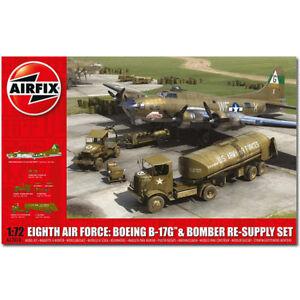 AIRFIX-A12010-Eighth-Air-Force-B-17G-amp-Resupply-Set-1-72-Aircraft-Model-Kit