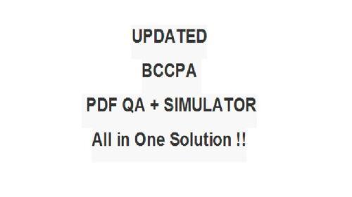 Blue Coat Certified Proxy Administrator BCCPA Test Exam QA PDF/&Simulator