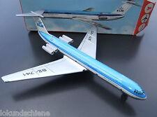 KLM Blech Flugzeug DDR / GDR 62-741  Royal Dutch Airlines Länge ca. 35 cm