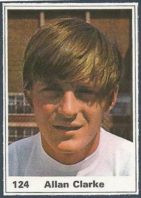 EDDIE GRAY A/&BC-FOOTBALL 1971 PURPLE BACK DYK-#177 LEEDS UNITED