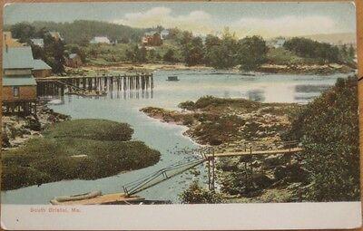 1905 Postcard - Birdseye View - South Bristol, Maine ME