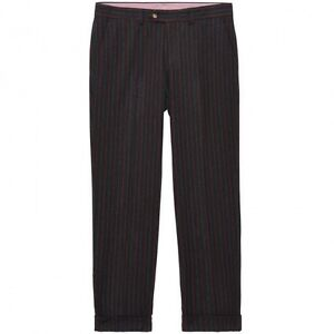 NWT-Gant-by-Michael-Bastian-Antique-Stripe-Tailored-Pant-W32L34-MSRP-325