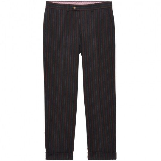 NWT Gant by Michael Bastian Antique Stripe Tailored Pant W32L34 MSRP $325
