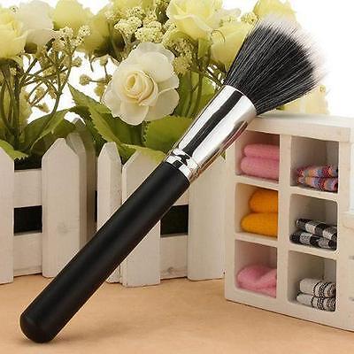 Makeup Cosmetic Duo Fiber Stippling Mineral Brush Blush Foundation Powder XH