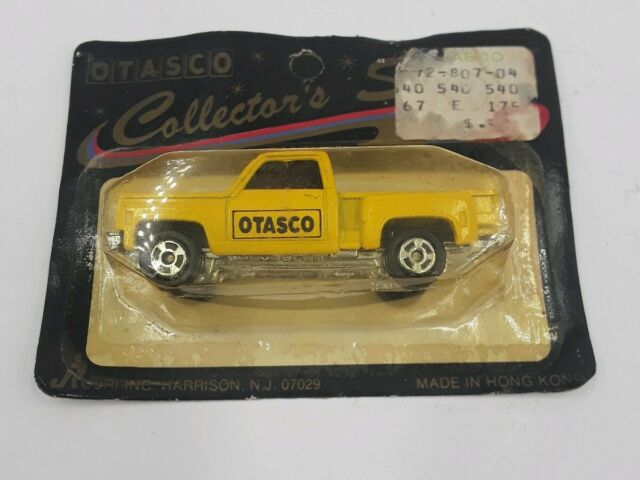 OTASCO DIE CAST CHEVROLET PICKUPS IN ORIGINAL PACKAGING