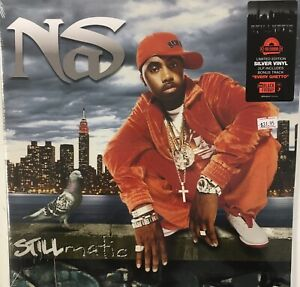 NAS-Stillmatic-NEW-SEALED-2X-LP-Silver-Vinyl-RSD-2019-Rap-Hip-Hop
