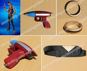 Space Dandy Cosplay Dandy Prop Black Belt With PVC Buckle Waistband Popular New