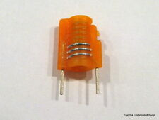 Miniature Moulded Variable Inductor. 3.5t, Orange, 30-51nH. 'Mini S18' UKSeller.