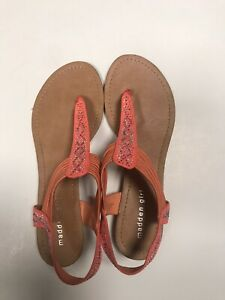 Madden Girl Coral jeweled sandals, 11M