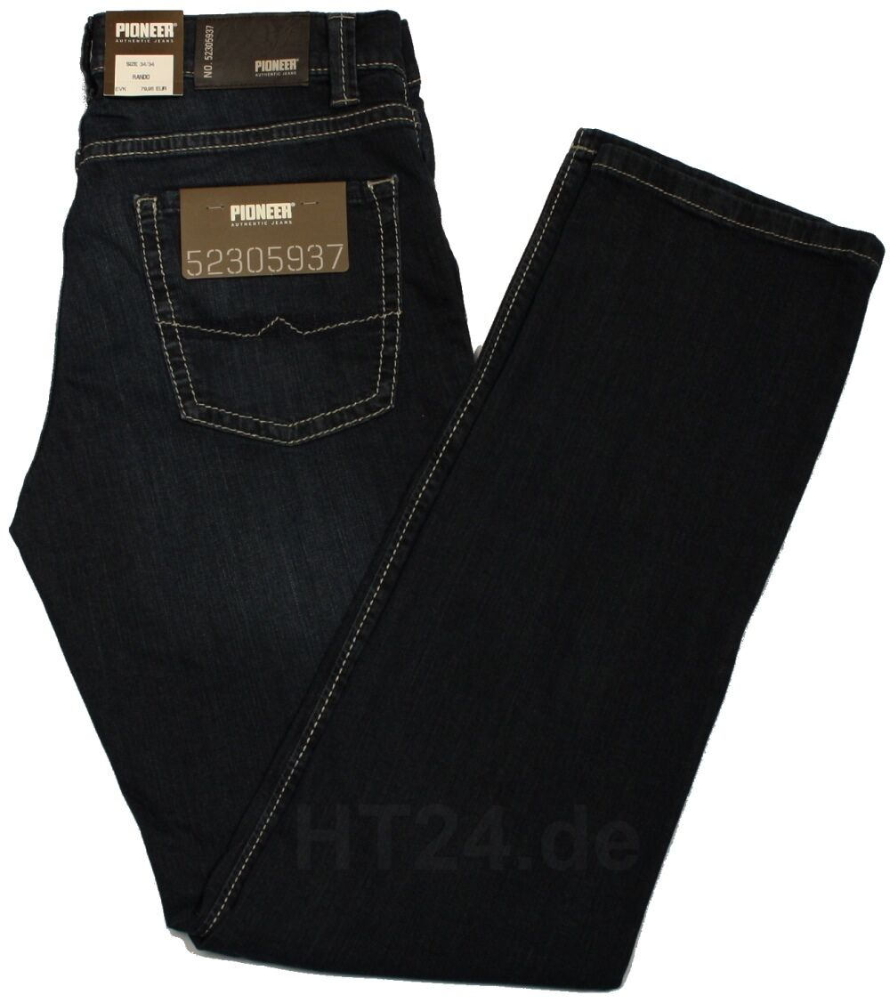 TOP PIONEER Jeans RANDO 1684 9796-353 darkbluee used STRETCH -sofort-