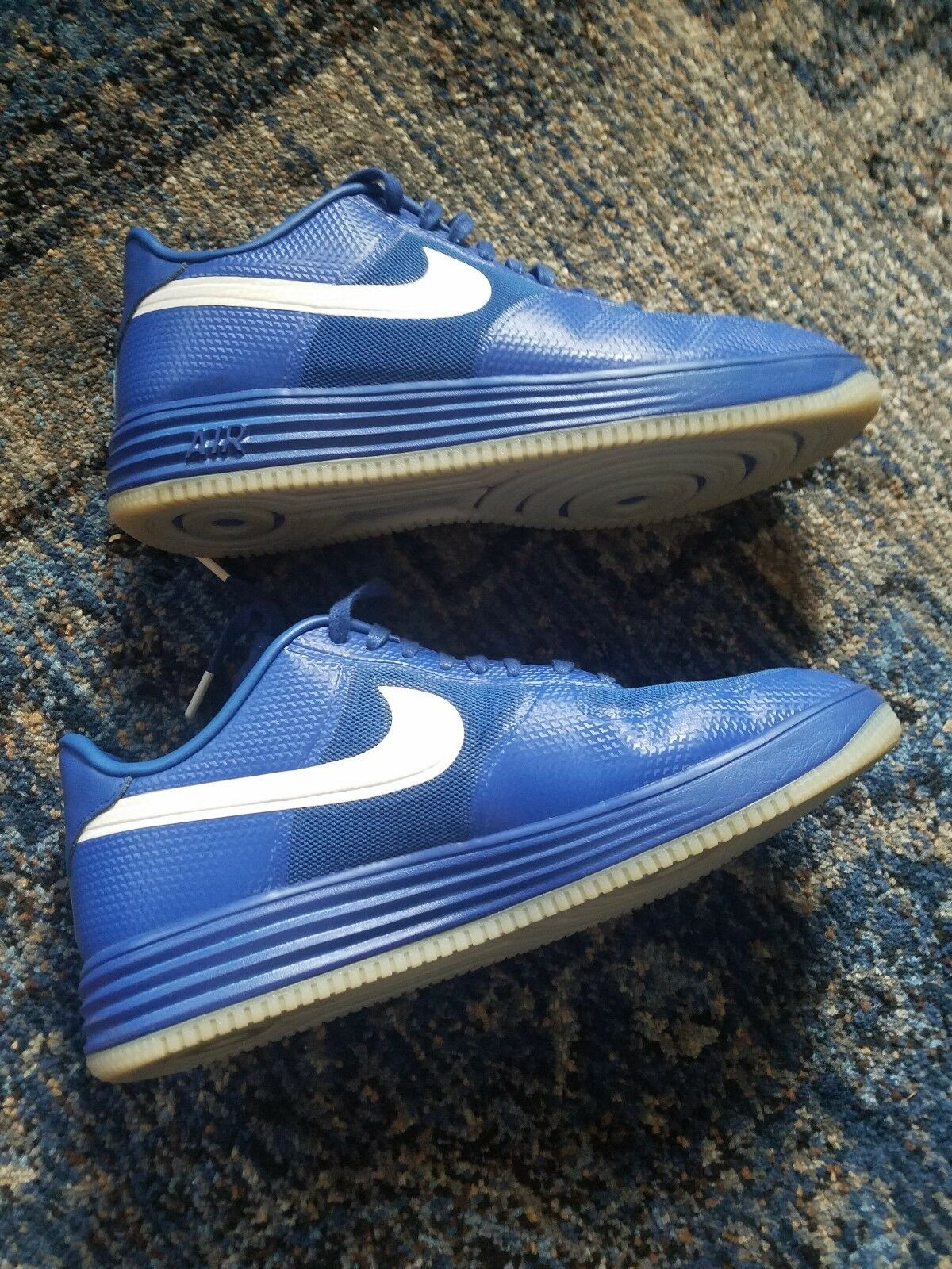 Nike shoes Sneakers Lunar Force 1 Fuse -- SIZE 12 MENS color blueE