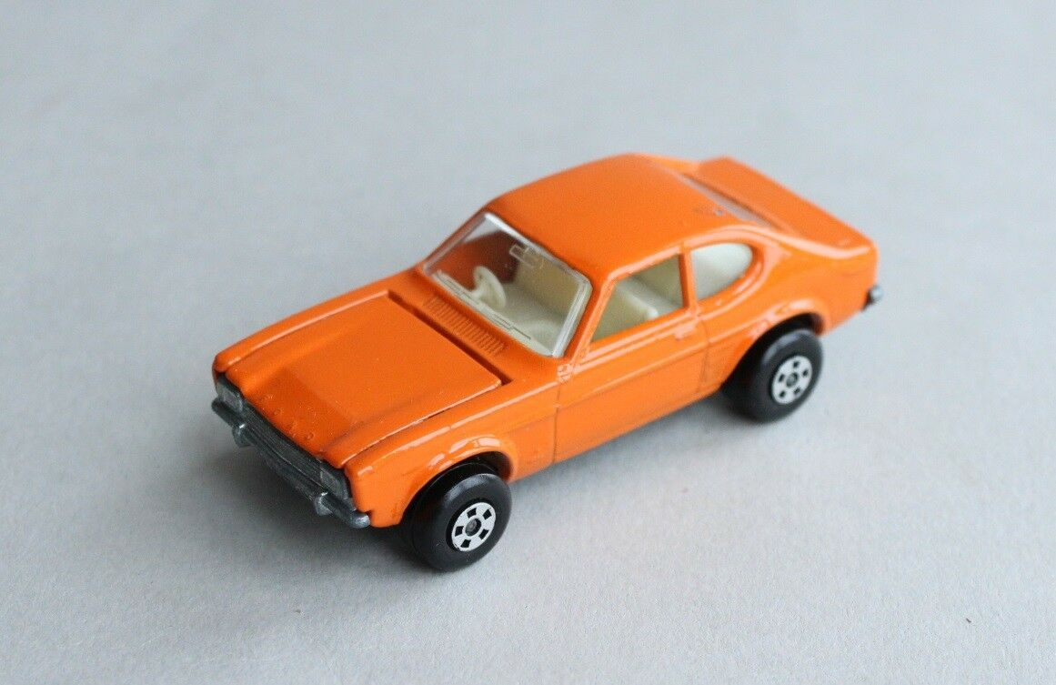 Matchbox Lesney Superfast MB 54 Ford Capri - Rare ALL orange