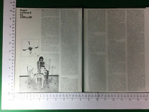 Rogers London 5 Drum Kit Fonction/article-circa 1979-afficher Le Titre D'origine