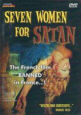 Seven Women For Satan DVD Mondo Macabro Michel Lemoine 1974 cult french horror