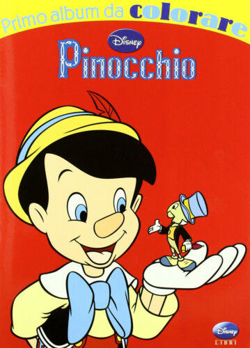Pinocchio primo album da colorare -Disney Libri - Libro nuovo in offerta !