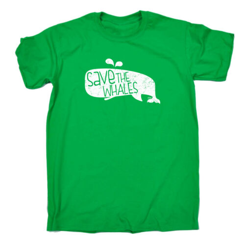 Save The Whales Funny Kids Childrens T-Shirt tee TShirt