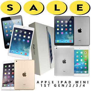 Apple-iPad-Mini-1-2-3-4-WiFi-AT-amp-T-Verizon-T-Mobile-Unlocked-16-32-64-128GB