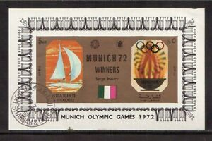 SHARJAH-amp-DEPENDENCIES-1972-USED-S-S-MUNICH-OLYMPIC-GAMES