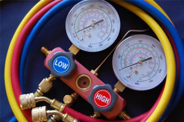 hvac manifold gauges for 410a