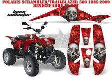 AMR Racing DECORO GRAPHIC KIT ATV POLARIS interferenzaNverso/Trailblazer Bone Collector B