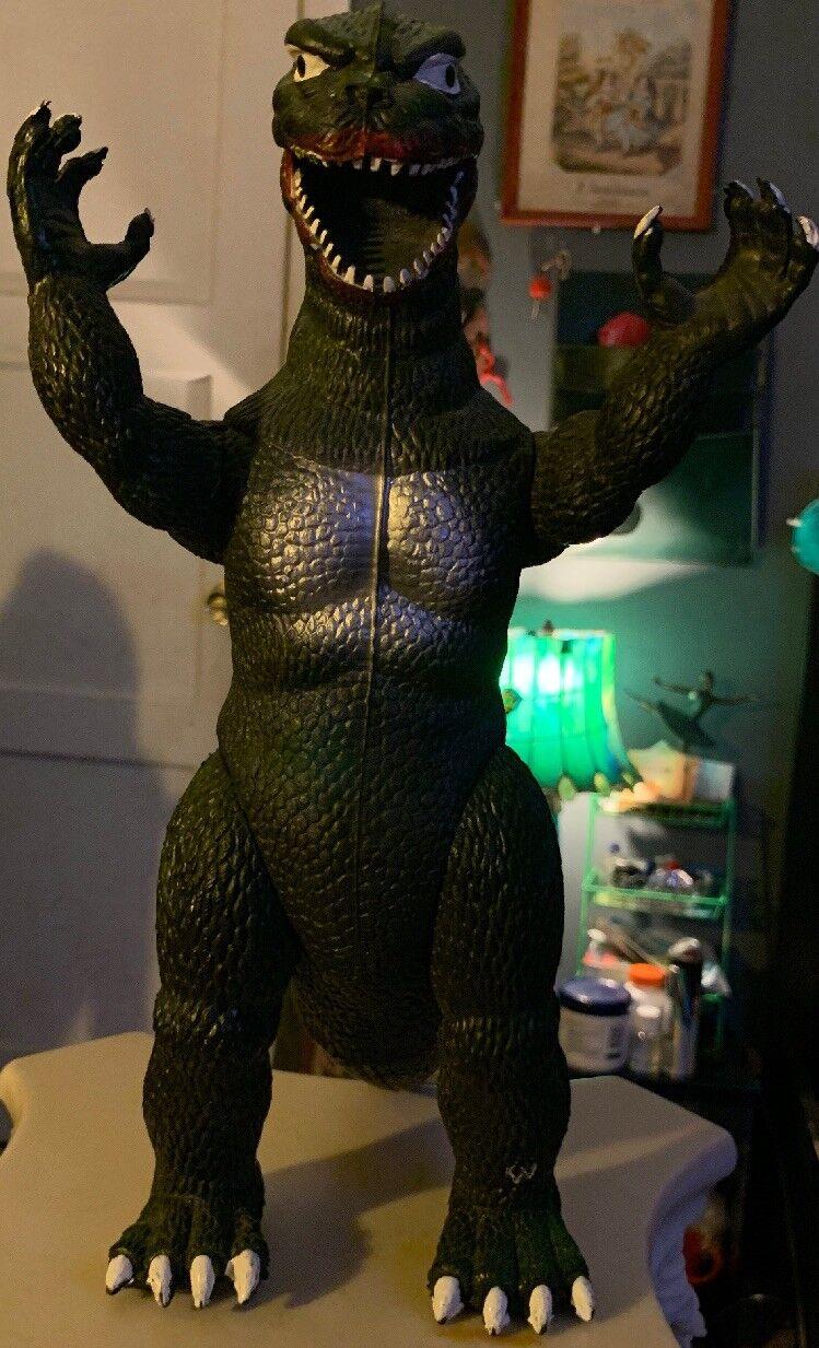 Vintage Hard Rubber Imperial Godzilla Godzilla Godzilla 1985  Figure 80's 13  eff489
