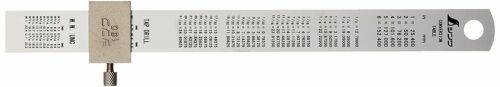 Shinwa Ruler Straight Silver With Stopper 150mm 15cm 76751 from JAPAN