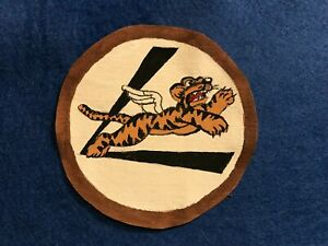WWII-USAAF-US-Army-Air-Force-AVG-Fling-Tiger-039-s-Patch-CBI-China