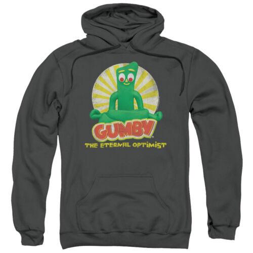 Gumby The Eternal OPTIMIST Licensed Adult Sweatshirt Hoodie