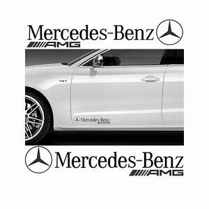 Details About 2x Mercedes Benz Amg 28x5cm Aufkleber Car Window Bumper Sticker Vinil 272