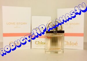 Chloe Love Story Sensuelle Eau De Parfum Mini 025oz75ml New In