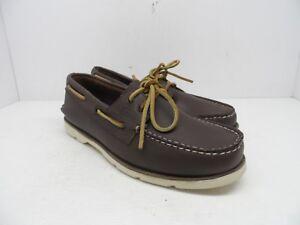 SPERRY Mens Leeward 2-Eye Boat Shoe