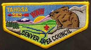 OLD-TAHOSA-OA-LODGE-383-BSA-DENVER-AREA-COUNCIL-CO-PATCH-SCENIC-CONEY-FLAP-MINT