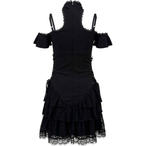 Goth Killstar Magic Spitze Minikleid Mond Okkult Black Wiccan Gothic xSqpRIzwS